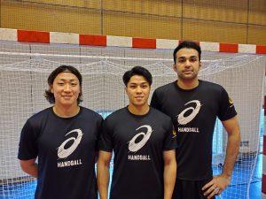 日本代表強化合宿に3選手が参加