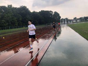 雨のラントレ