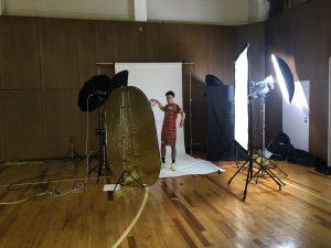 チーム写真撮影